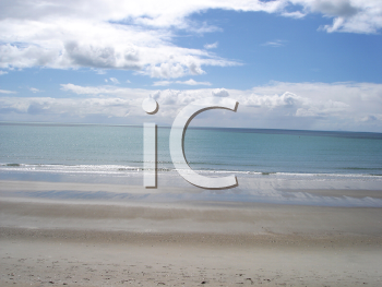 Royalty Free Photo of a Seashore