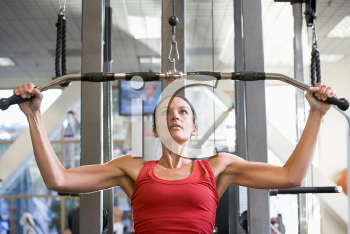 Royalty Free Photo of a Woman Working Out