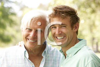Royalty Free Photo of a Father and Son