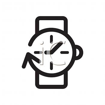Royalty Free Clipart Image of a Watch
