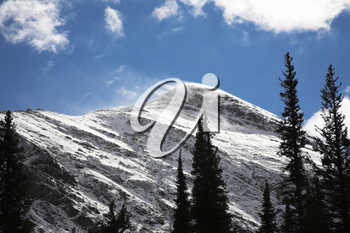 Royalty Free Photo of Snowy Mountains