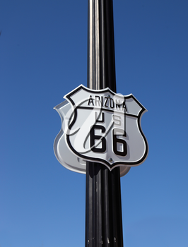 Royalty Free Photo of Historic Route 66