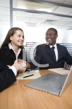 Royalty Free Photo of People at a Business Meeting