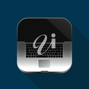 Laptop Icon for Mobile