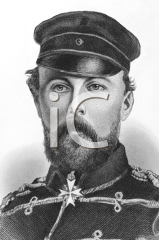 Royalty Free Photo of Prince Frederick Charles of Prussia