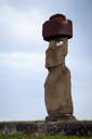 Royalty Free Photo of an Easter Island Statue