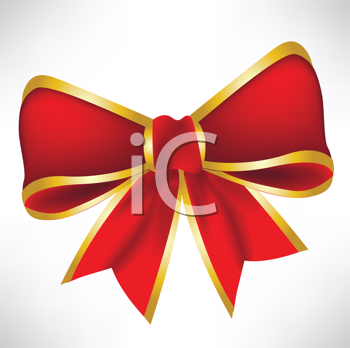 Royalty Free Clipart Image of a Bow