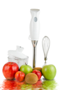 Royalty Free Photo of a Blender With Fruit