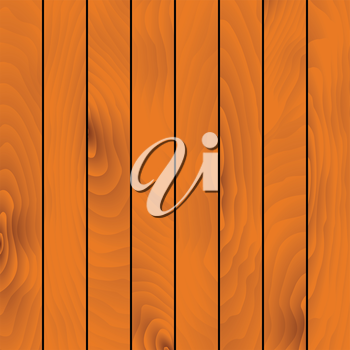Light brown wooden background with texture of natural hardwood planks. Addition to construction, DIY or carpentry background projects design. Vector