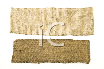 Royalty Free Photo of Sackcloth Material
