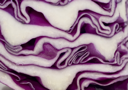 Cabbage - extreme closeup of its cut. Useful as background