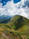 Hiking: Carpathian mountains landscape in Ukraine