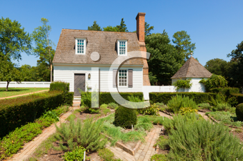 Royalty Free Photo of a Country House