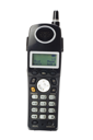 Close-up of a cordless phone