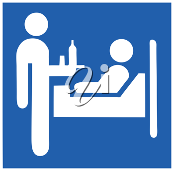 Royalty Free Clipart Image of a Medical Icon