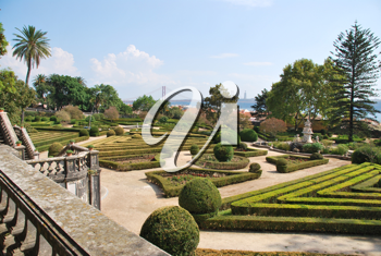 Royalty Free Photo of the Ajuda Garden in Lisbon, Portugal
