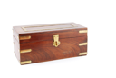 Royalty Free Photo of an Antique Wooden Chest
