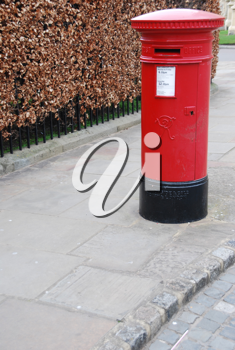 Royalty Free Photo of a Vintage British Postbox