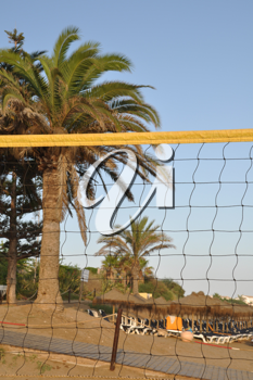 Royalty Free Photo of Beach Volleyball