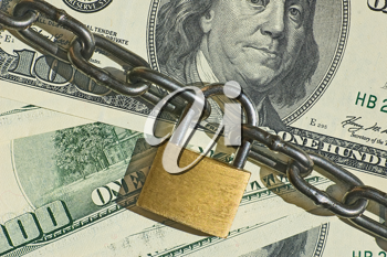 Financial security concept image