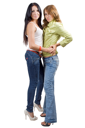 Royalty Free Photo of Two Women