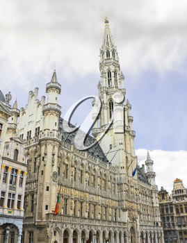 Grand Place and Grote Markt in Brussels, Belgium