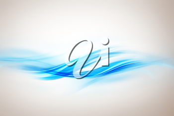 Royalty Free Clipart Image of a Wavy Background