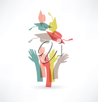 hands of students icon