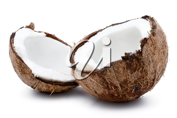 Royalty Free Photo of an Open Coconut