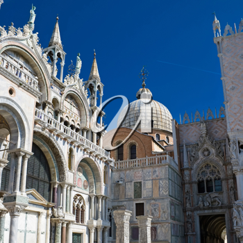 Royalty Free Photo of Saint Mark Cathedral in Venice Italy