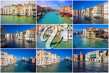 Royalty Free Photo of The Grand Canal in Venice Italy