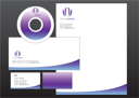 Royalty Free Clipart Image of a Webpage Template