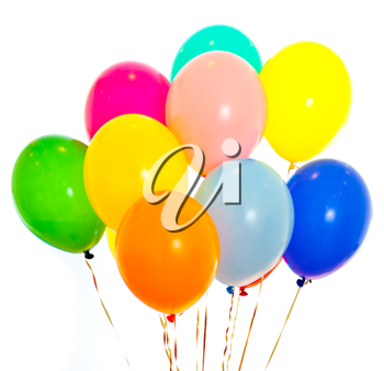 Royalty Free Photo of Colorful Balloons