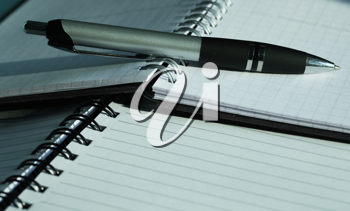 Royalty Free Photo of a Pen and Paper