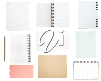 Royalty Free Photo of a Collection of Notepads