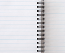 Royalty Free Photo of a Spiral Notebook