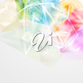 Royalty Free Clipart Image of a Multicoloured Background
