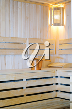 interiors saunas made ​​of wood
