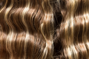 wavy hair as a background. texture