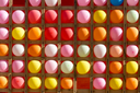 colored balls as a background