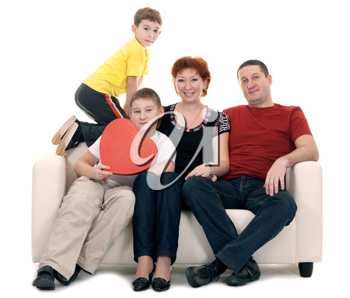 Royalty Free Photo of a Family