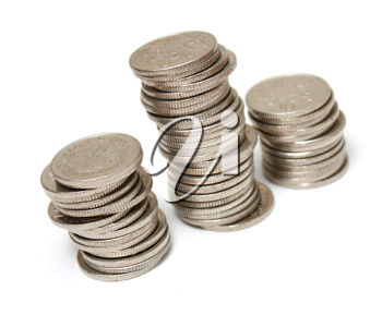 Royalty Free Photo of Coins