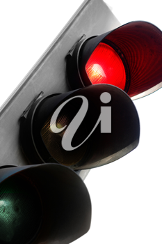 Royalty Free Photo of a Traffic Light
