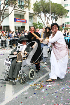 Royalty Free Photo of People in Costumes