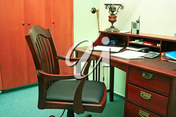 Royalty Free Photo of an Office