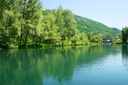 Royalty Free Photo of a Lake in Jermuk, Armenia