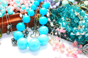 Royalty Free Photo of a Bunch of Jewelry