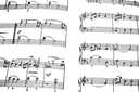 Royalty Free Photo of Sheets of Music