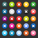 Royalty Free Clipart Image of a Bunch of Icons