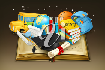 Education, vector background